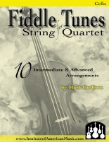 Fiddling String Quartet Cover Cello for Web