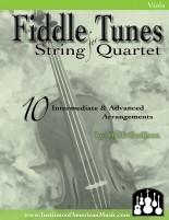 Fiddling String Quartet Cover Viola for Web