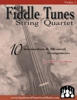 Fiddling String Quartet Cover Violin 1 for Web