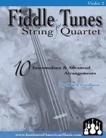 Fiddling String Quartet Cover Violin 2 fror Web