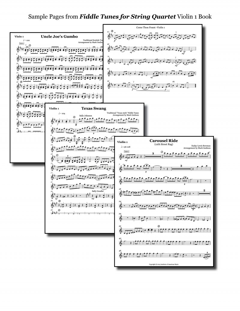 SQ Look Inside Violin 1 Book